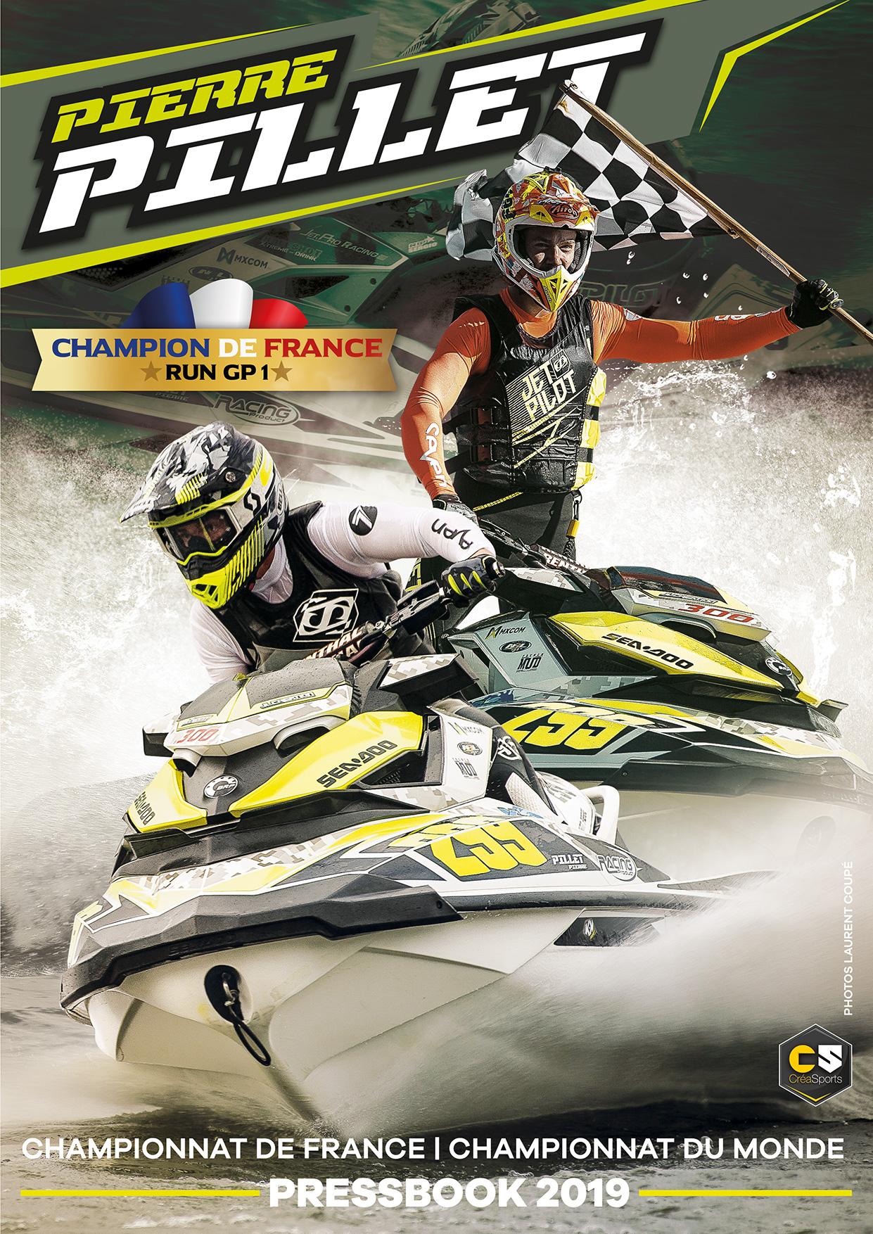 pressbook jet ski pierre pillet champion de france